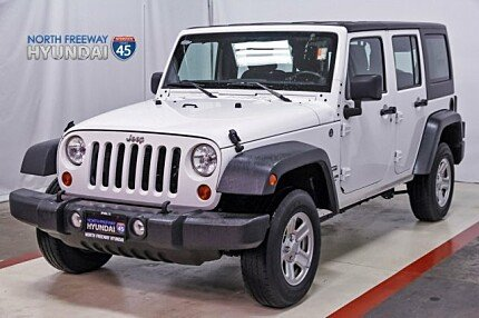2013 Jeep Wrangler 4WD Unlimited Sport for sale 100886699