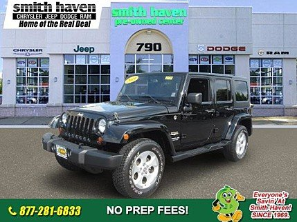 2013 Jeep Wrangler 4WD Unlimited Sahara for sale 100891033