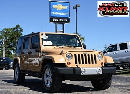 2013 Jeep Wrangler 4WD Unlimited Sahara for sale 100891115