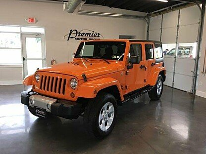 2013 Jeep Wrangler 4WD Unlimited Sahara for sale 100909254