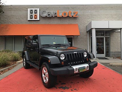 2013 Jeep Wrangler 4WD Unlimited Sahara for sale 100929889