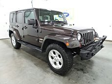 2013 Jeep Wrangler 4WD Unlimited Sahara for sale 100961268