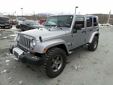2013 Jeep Wrangler 4WD Unlimited Sahara for sale 100962610
