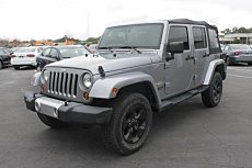 2013 Jeep Wrangler 4WD Unlimited Sahara for sale 100971565