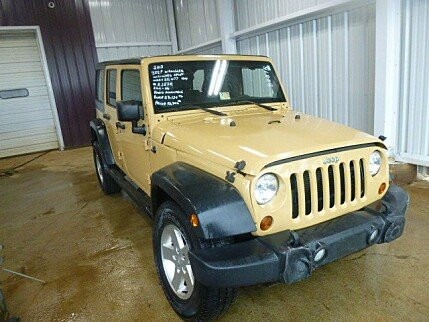 2013 Jeep Wrangler 4WD Unlimited Sport for sale 100973047