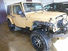 2013 Jeep Wrangler 4WD Unlimited Sahara for sale 100973050