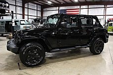 2013 Jeep Wrangler 4WD Unlimited Sahara for sale 100982098