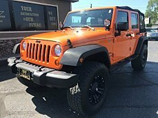 2013 Jeep Wrangler 4WD Unlimited Sport for sale 100997195