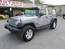 2013 Jeep Wrangler 4WD Unlimited Sport for sale 101028236