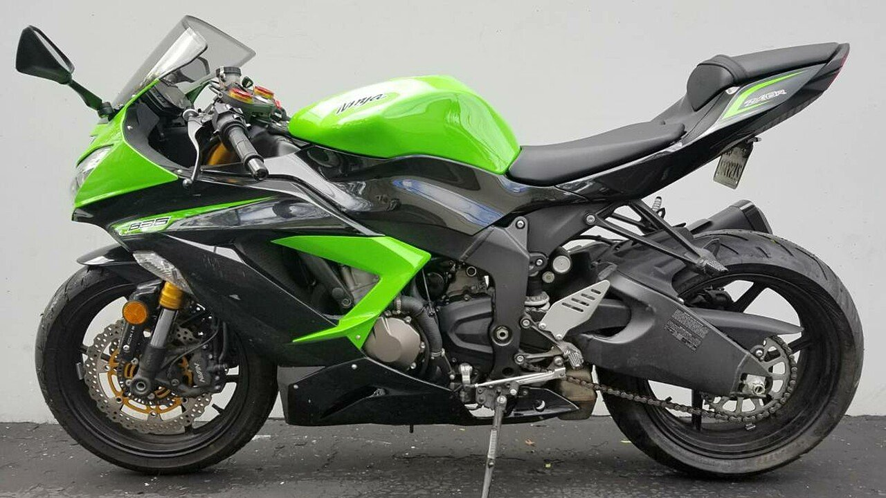 2013 Kawasaki Ninja ZX-6R for sale 200543878