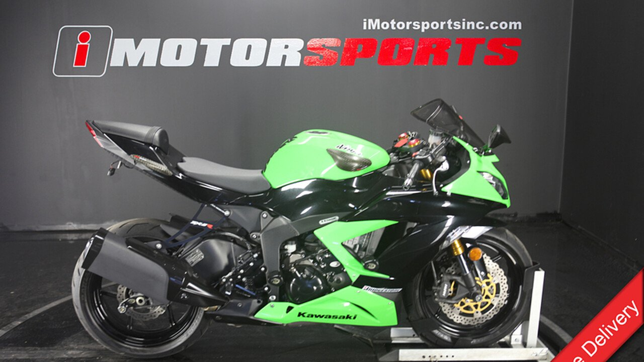 2013 Kawasaki Ninja ZX-6R for sale 200599549