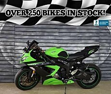 2013 Kawasaki Ninja ZX-6R for sale 200507390