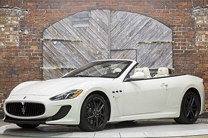 2013 Maserati GranTurismo Sport Convertible for sale 100839184