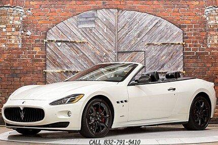 2013 Maserati GranTurismo Convertible for sale 101031214