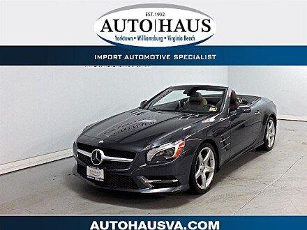 2013 Mercedes-Benz SL550 for sale 101050555