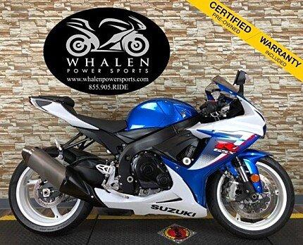 2013 Suzuki GSX-R600 for sale 200547405