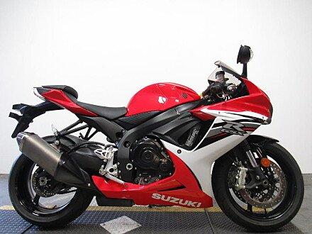 2013 Suzuki GSX-R600 for sale 200638179