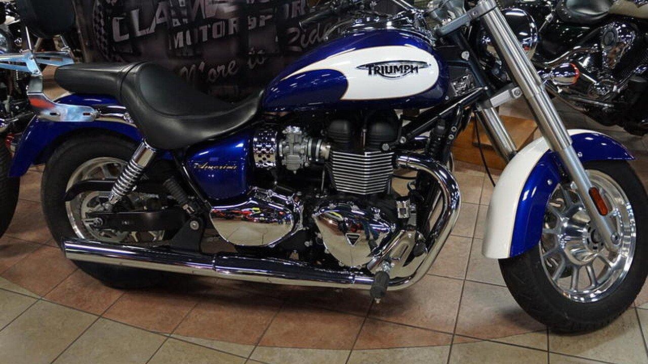 2013 Triumph America for sale 200620794