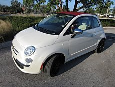 2013 fiat 500 Lounge Cabrio for sale 100995835