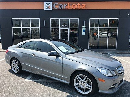 2013 mercedes-benz E550 Coupe for sale 101022749