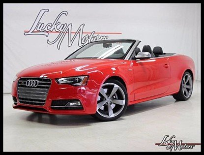 2014 Audi S5 3.0T Premium Plus Cabriolet for sale 100894301