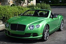 2014 Bentley Continental GTC Speed Convertible for sale 100752020