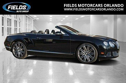 2014 Bentley Continental GTC Speed Convertible for sale 100839276
