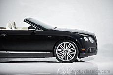 2014 Bentley Continental GTC Speed Convertible for sale 100843514