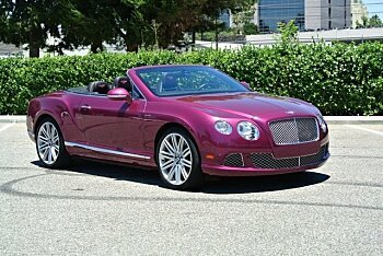 2014 Bentley Continental GTC Speed Convertible for sale 100881370