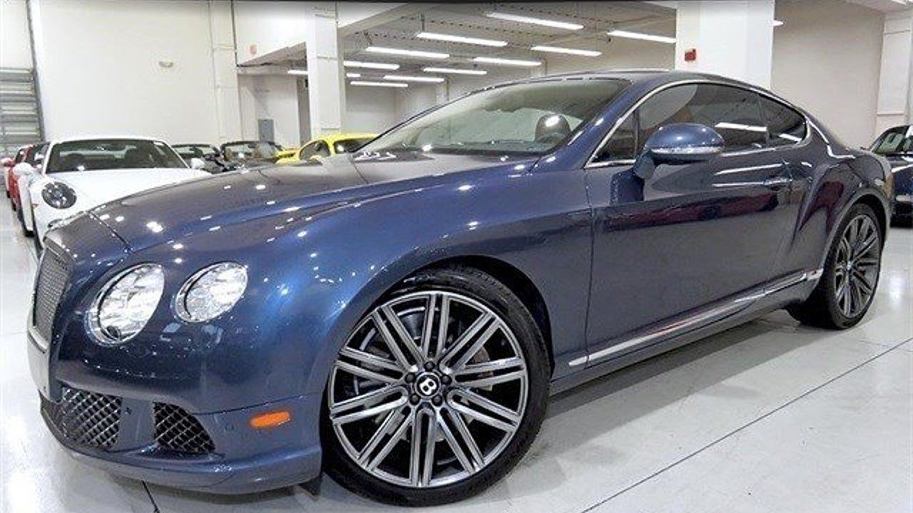 2014 Bentley Continental GT Speed Coupe for sale 101007547