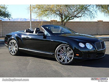 2014 Bentley Continental GTC Speed Convertible for sale 100835831