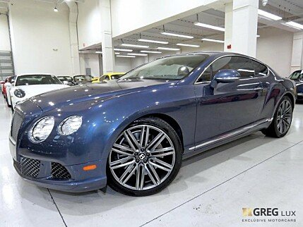 2014 Bentley Continental GT Speed Coupe for sale 100923147
