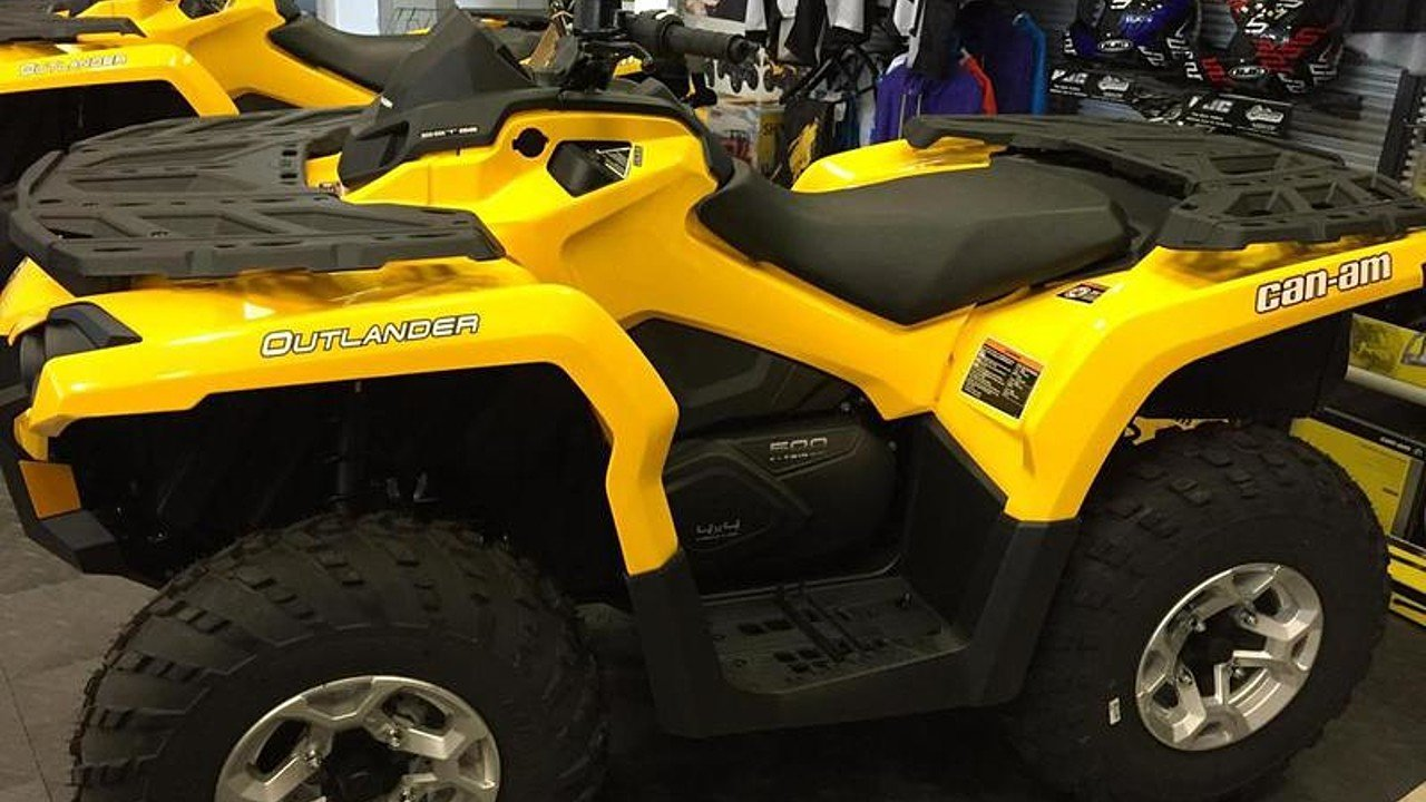 2014 Can-Am Outlander 500 for sale 200486824
