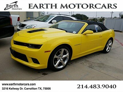 2014 Chevrolet Camaro SS Convertible for sale 100925591