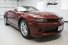 2014 Chevrolet Camaro LT Convertible for sale 100955718