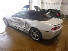 2014 Chevrolet Camaro LT Convertible for sale 100969325