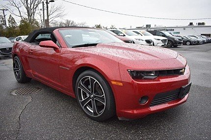 2014 Chevrolet Camaro LT Convertible for sale 100974904