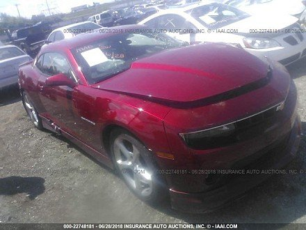 2014 Chevrolet Camaro LT Coupe for sale 101015093