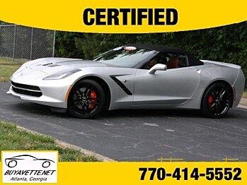 2014 Chevrolet Corvette Convertible for sale 100762373