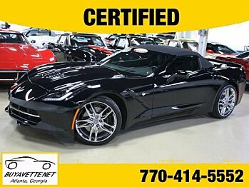 2014 Chevrolet Corvette Convertible for sale 100775151