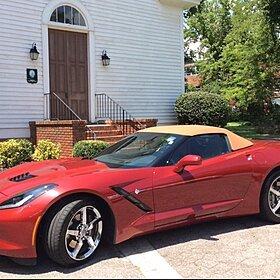 2014 Chevrolet Corvette Convertible for sale 100787210