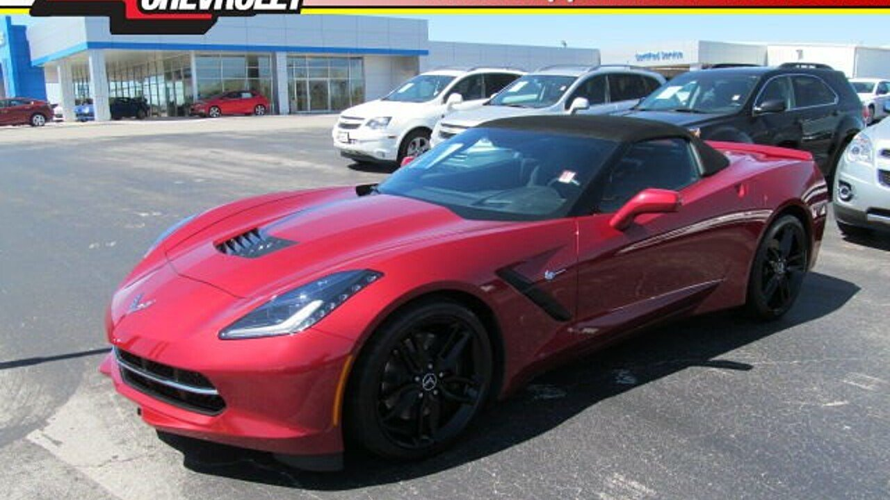 2014 Chevrolet Corvette Convertible for sale 100860170
