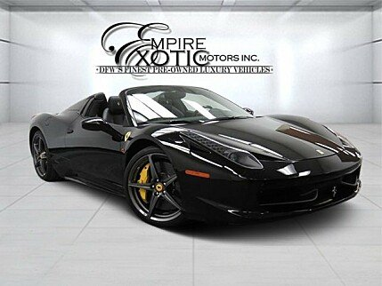 2014 Ferrari 458 Italia Spider for sale 100757810