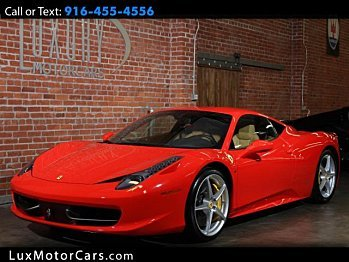 2014 Ferrari 458 Italia Coupe for sale 100962272
