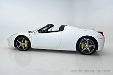 2014 Ferrari 458 Italia Spider for sale 100864352