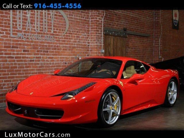2014 Ferrari 458 Italia Coupe For Sale 100962272