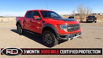 2014 Ford F150 4x4 Crew Cab SVT Raptor for sale 100859685