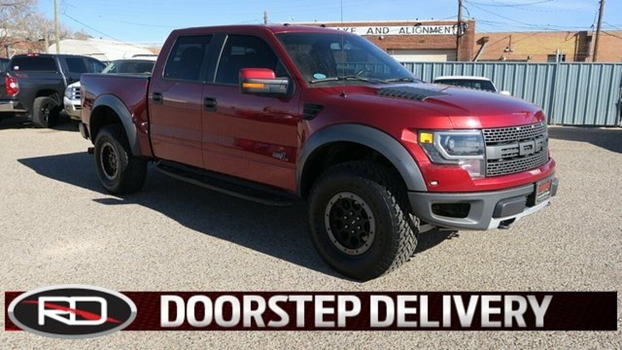 2014 Ford F150 4x4 Crew Cab SVT Raptor for sale 100915178