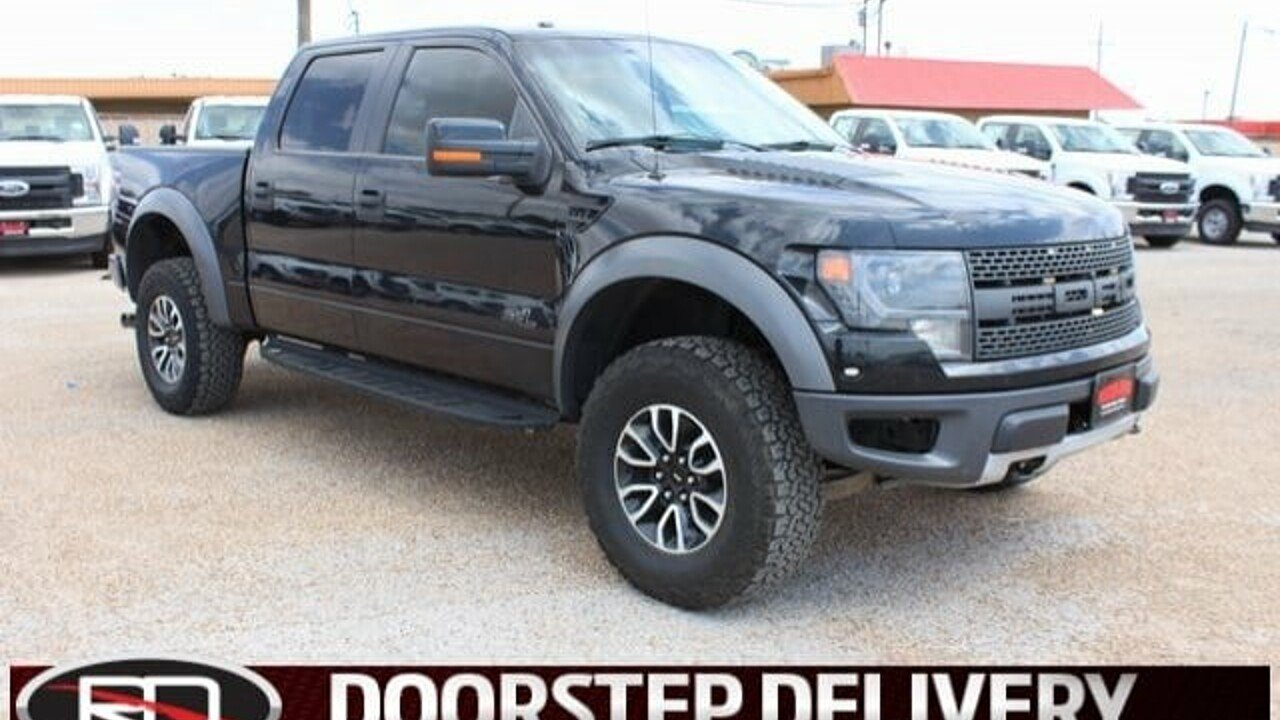 2014 Ford F150 4x4 Crew Cab SVT Raptor for sale 101000230