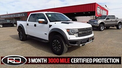 2014 Ford F150 4x4 Crew Cab SVT Raptor for sale 100929004